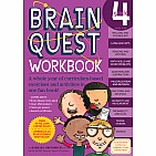 Brain Quest Workbook: Grade 4 Paperback