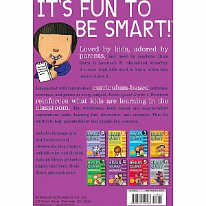 Brain Quest Workbook: 4th Grade