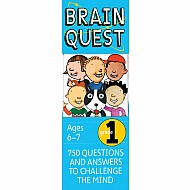 Brain Quest Grade 1 Revised 4Th Edition: 750 Questions And Answers To Challenge The Mind