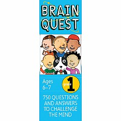 Brain Quest Deck: Grade 1 - 750 Questions and Answers to Challenge the Mind