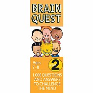 Brain Quest 2Nd Grade Q&A Cards: 1000 Questions And Answers To Challenge The Mind. Curriculum-Based! Teacher-Approved!