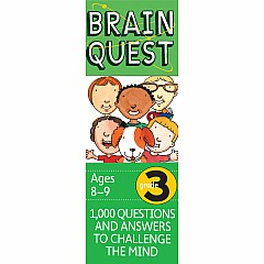 Brain Quest Deck: Grade 3 - 1,000 Questions and Answers to Challenge the Mind