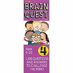 Brain Quest Deck: Grade 4 - 1,500 Questions and Answers to Challenge the Mind
