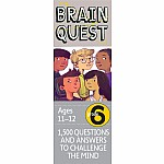 Brain Quest Grade 6, revised 4th edition: 1,500 Questions and Answers to Challenge the Mind