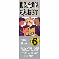 Brain Quest Grade 6, revised 4th edition
