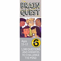 Brain Quest Deck: Grade 6 - 1,500 Questions and Answers to Challenge the Mind