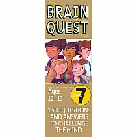 Brain Quest Grade 7, revised 4th edition