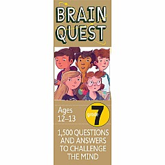 Brain Quest Deck: Grade 7 - 1,500 Questions and Answers to Challenge the Mind