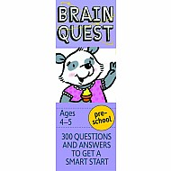 Brain Quest Preschool, revised 4th edition: 300 Questions and Answers to Get a Smart Start