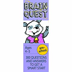 Brain Quest Deck: Preschool - 300 Questions and Answers to Get a Smart Start