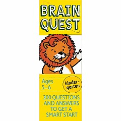 Brain Quest Deck: Kindergarten - 300 Questions and Answers to Get a Smart Start