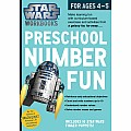 Star Wars Workbook: Preschool Number Fun