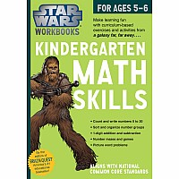 Star Wars Workbook: Kindergarten Math Skills