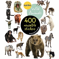 Eyelike Stickers: Wild Animals