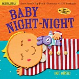 Indestructibles: Baby Night-Night: Chew Proof · Rip Proof · Nontoxic · 100% Washable (Book for Babies, Newborn Books, Safe to C