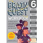 Brain Quest Workbook: Grade 6