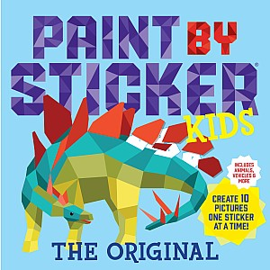 Paint by Sticker Kids: Create 10 Pictures One Sticker at a Time