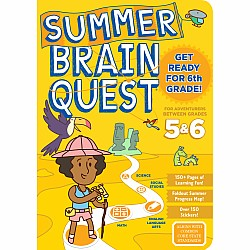 Summer Brain Quest: Between Grades 5 & 6