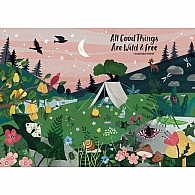 1000 pc All Good Things Are Wild and Free Puzzle