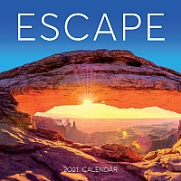 Escape Wall Calendar 2021