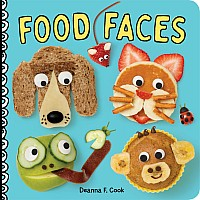 Food Faces: A Board Book