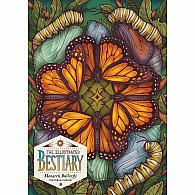 750 pc Illustrated Bestiary Puzzle: Monarch Butterfly