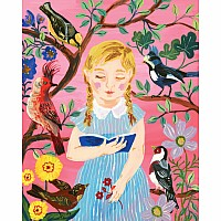 Nathalie Lété: The Girl Who Reads to Birds 500-Piece Puzzle