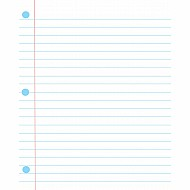 Big Magnetic Notebook Paper 12