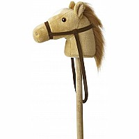 Beige Giddy Up Pony 37in