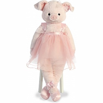 "31"" Dusty Rose Pig-Lette"