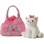 Fancy Pals - Princess Kitten Pet Carrier 8in