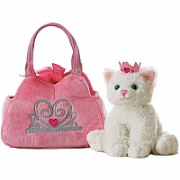 Fancy Pals - Princess Kitten Pet Carrier 8""