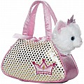 "7"" Princess Kitty Pet Carrier"