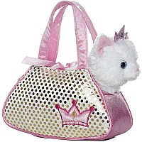 Fancy Pals - Princess Kitty Pet Carrier 7in