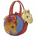 "7"" Pretty Pony Pet Carrier"