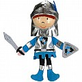 Blue Knight Finger Puppet