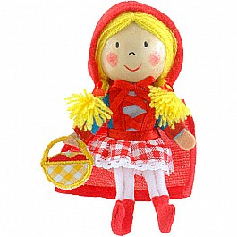 Red Riding Hood Finger Puppet