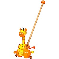 Giraffe Push Along