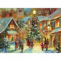 Holiday Village Advent Calendar