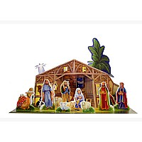 Story of Nativity 3D Advent Calendar