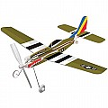 Sky Blue Flight Skyryders P-51 Mustang Model Kit
