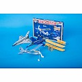 Be Amazing! Toys Sky Blue Flight History of Flight Model Kit