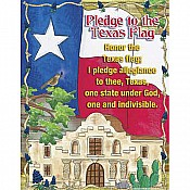 Pledge To the Texas Flag Chart