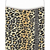 Leopard Library Pockets