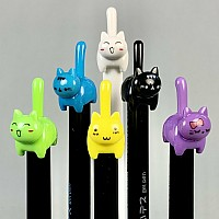 Cat Tail Retractable Gel Roller Pen-48