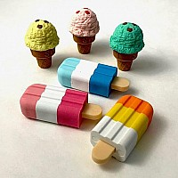 Iwako Cup Cake-6 Colors-60