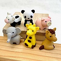 Zoo Animal Erasers-60