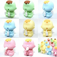 Alien Baby Eraser-new Colors-60
