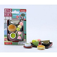 Japanese Sweets Eraser Card-10
