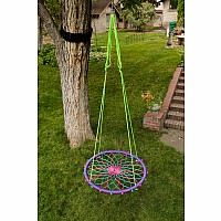 "38"" Sky Dreamcatcher Swing-Purple Fairy"